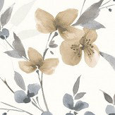 Albany Blossom Taupe Wallpaper