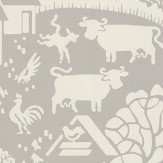 Farrow & Ball Gable Grey Wallpaper - Product code: BP 5401