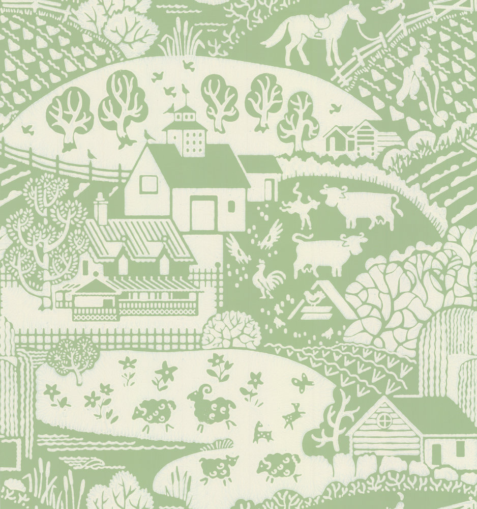 Farrow & Ball Gable Apple Wallpaper main image