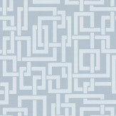 Farrow & Ball Enigma Blue Wallpaper