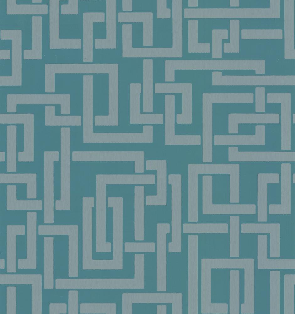 Farrow & Ball Enigma Teal Wallpaper - Product code: BP 5505