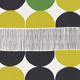 Scion Octant Juniper, Kiwi and Liquorice Fabric - Product code: 120484