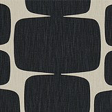 Scion Lohko Liquorice and Hemp Fabric