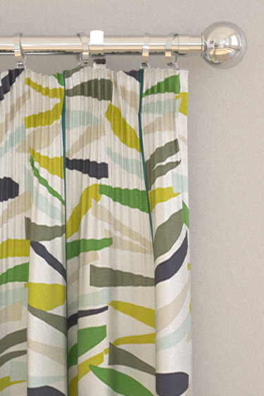Scion Tetra Juniper, Kiwi And Hemp Curtains