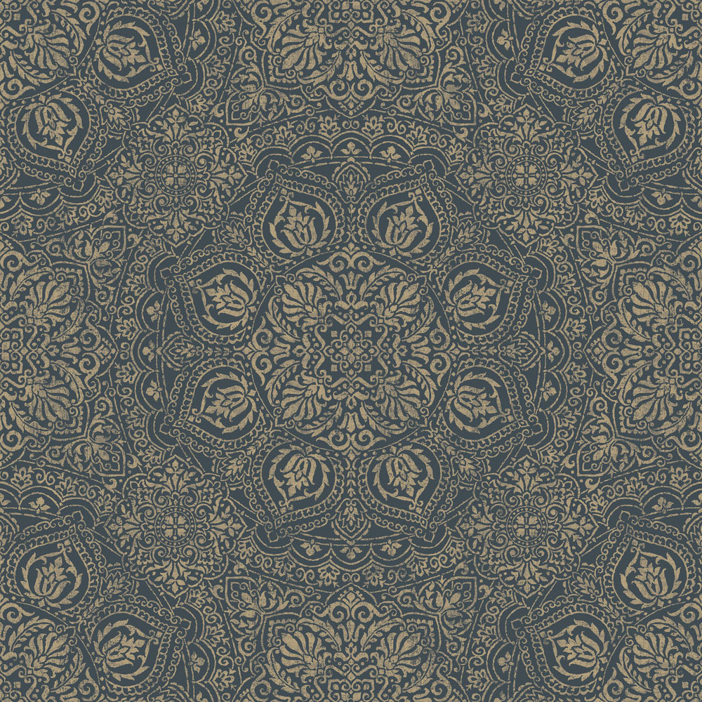 SketchTwenty 3 Mia Teal Wallpaper - Product code: SH00626