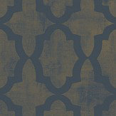 SketchTwenty 3 Morocco Beads Iridescent Teal Wallpaper