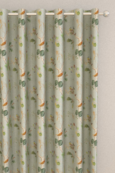 Woodland Chorus By Sanderson Sky Blue Multi