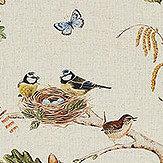 Sanderson Woodland Chorus Linen / Multi Fabric
