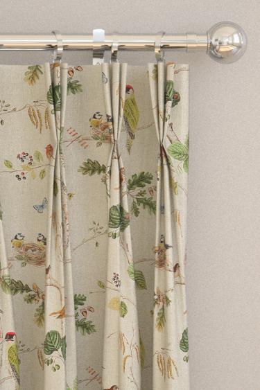 Woodland Chorus Curtains By Sanderson