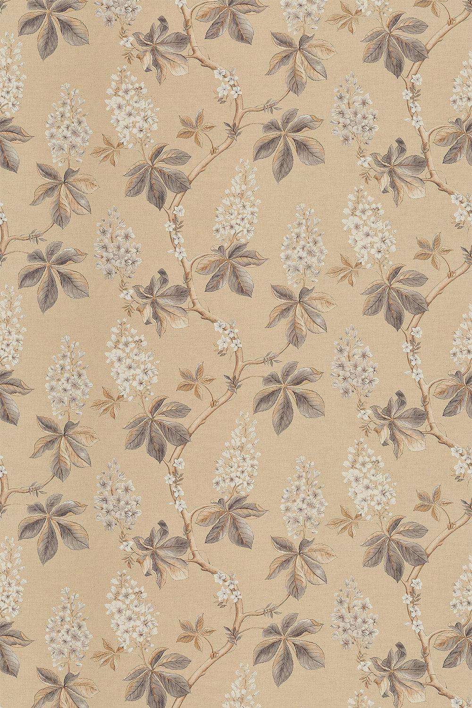 Chestnut Tree Fabric - Wheat / Pebble - by Sanderson