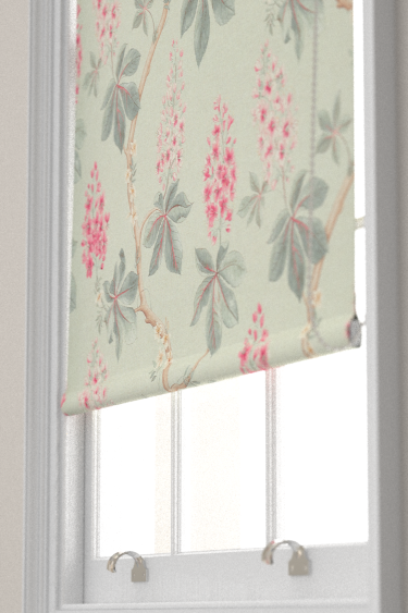 Sanderson Chestnut Tree Seaspray / Peony Blind