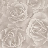 Albany Digital Rose Grey Wallpaper