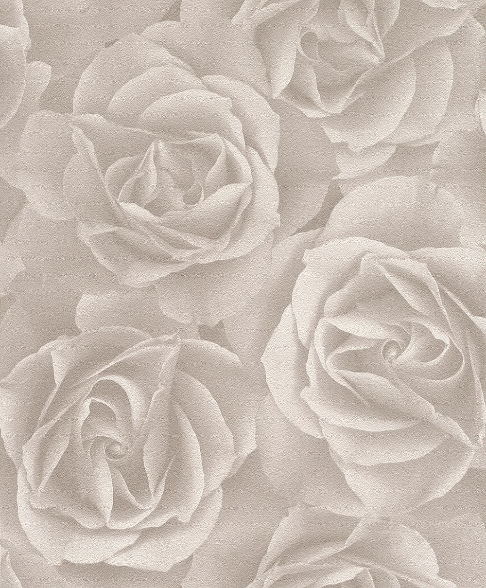 Albany Digital Rose Grey Wallpaper - Product code: 525601