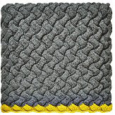 Clarissa Hulse Meadow Grass Knitted Throw