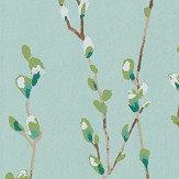Harlequin Salice Mint / Emerald Wallpaper