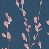 Harlequin Salice Rose / Navy Wallpaper - Product code: 111471