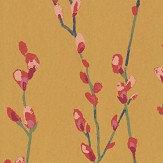 Harlequin Salice Fuchsia / Sunshine Wallpaper