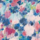 Harlequin Exuberance Fuchsia / Ultramarine Wallpaper