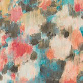 Harlequin Exuberance Coral / Turquoise Wallpaper - Product code: 111476