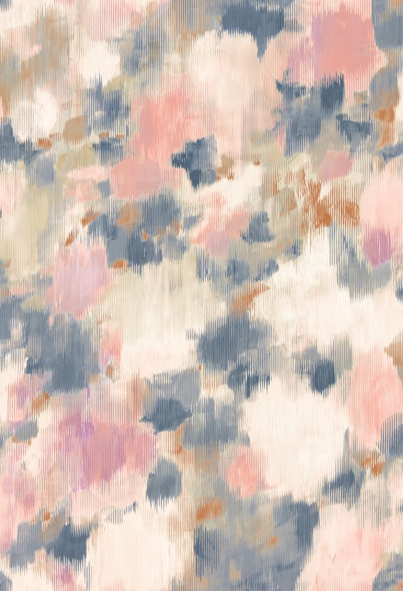 Harlequin Exuberance Heather / Indigo Wallpaper - Product code: 111477