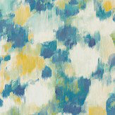 Harlequin Exuberance Lemon / Navy Wallpaper - Product code: 111478