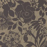 Harlequin Coquette Ebony Wallpaper