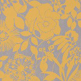 Harlequin Coquette Lemon Wallpaper