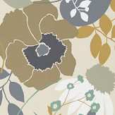 Harlequin Doyenne Ochre / Stone / Mint Wallpaper - Product code: 111490