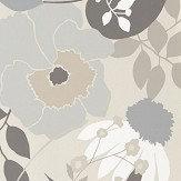 Harlequin Doyenne Mist / Linen / Hessian Wallpaper