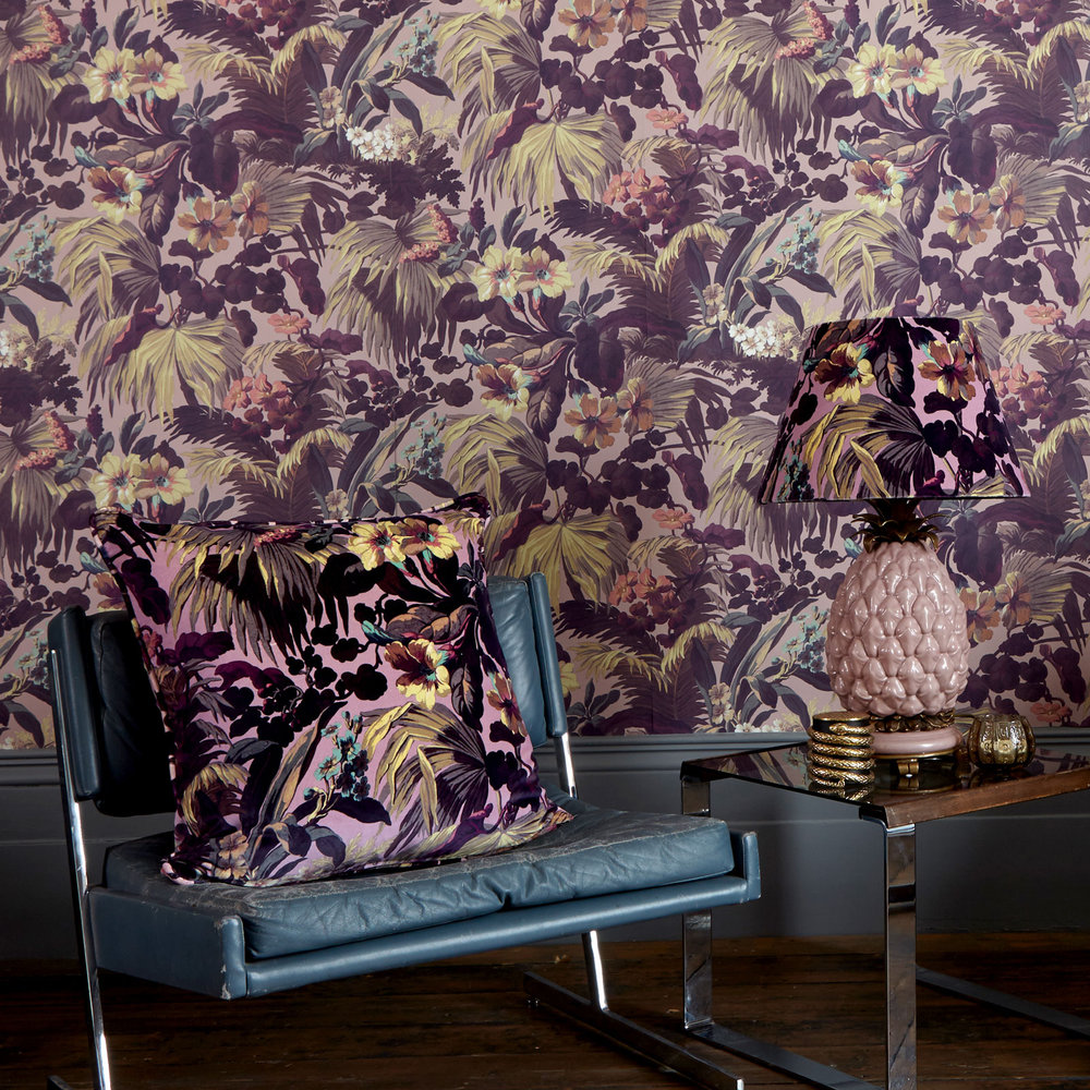 Limerence By House Of Hackney Rose Quartz Wallpaper Direct