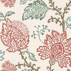 Nina Campbell Coromandel Ivory / Pink / Aqua Wallpaper - Product code: NCW4270/02