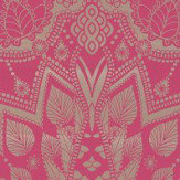 Matthew Williamson Azari Pink / Gold Wallpaper - Product code: W6952/01