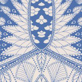 Matthew Williamson Azari Blue / White Wallpaper