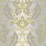 Matthew Williamson Viceroy Lime / Grey Wallpaper - Product code: W6954/01