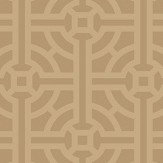 SketchTwenty 3 Fretwork Bronze Wallpaper - Product code: SR00500