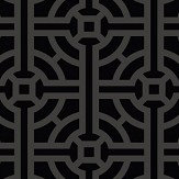 SketchTwenty 3 Fretwork Beaded Noir Wallpaper - Product code: SR00501