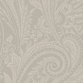 SketchTwenty 3 Paisley Pewter Wallpaper - Product code: SR00517