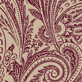 SketchTwenty 3 Paisley Wine Wallpaper - Product code: SR00519