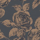 SketchTwenty 3 Rose  Teal Wallpaper - Product code: SR00523