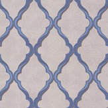 Matthew Williamson Jali Trellis Blue / Stone Wallpaper