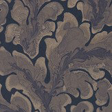 Zoffany Acantha Ink Wallpaper