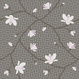 Boråstapeter Magnolia Brown & Pink Wallpaper - Product code: 5451