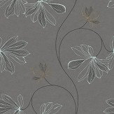 Boråstapeter Espri Charcoal Wallpaper - Product code: 5457