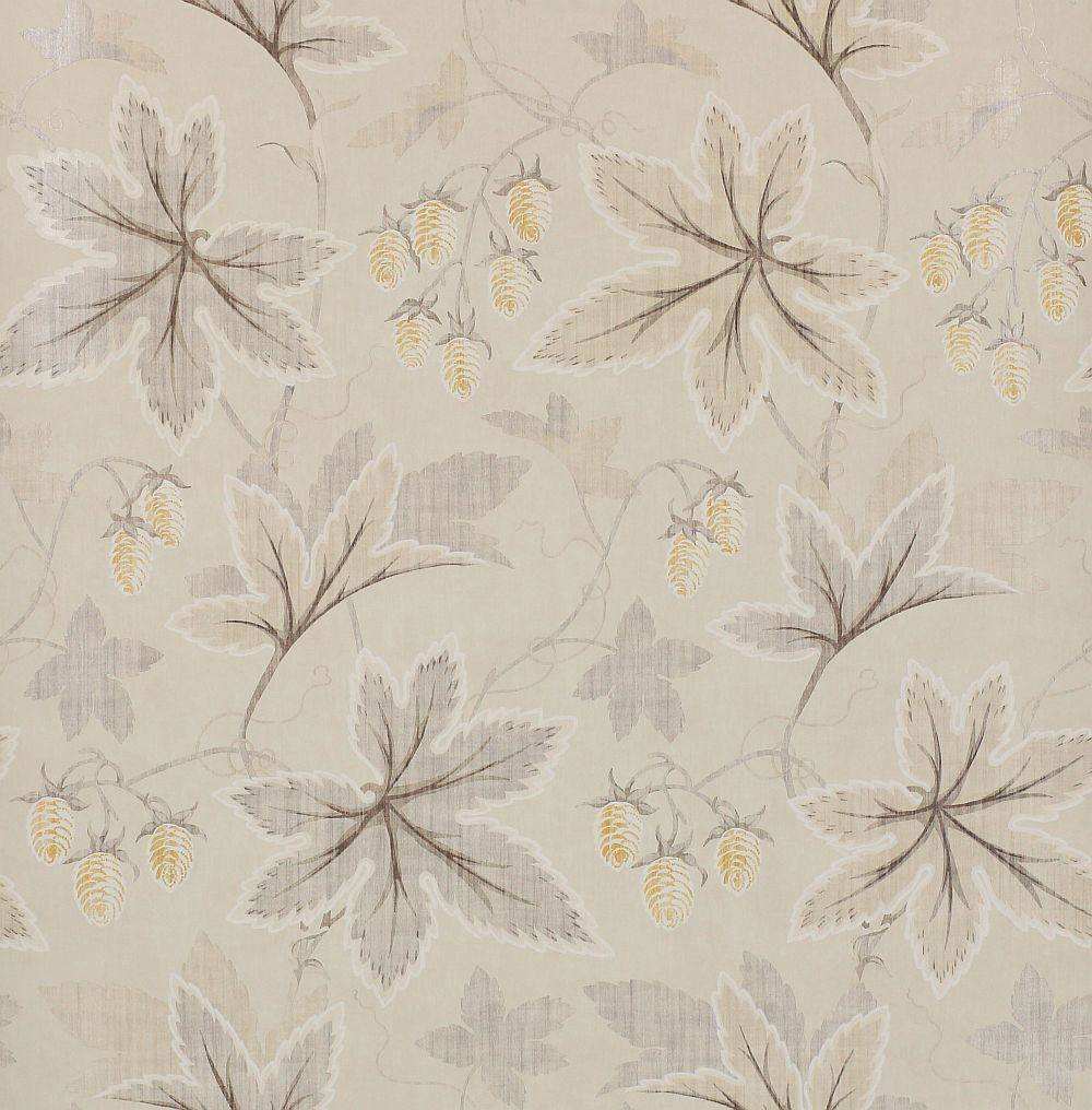 Colefax and Fowler Lindon Silver Wallpaper main image