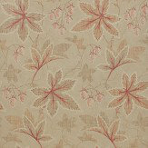 Colefax and Fowler Lindon Red / Gold Wallpaper