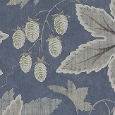 Colefax and Fowler Lindon Blue Wallpaper