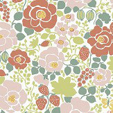 Boråstapeter Jordgubben Multi Wallpaper - Product code: 5466