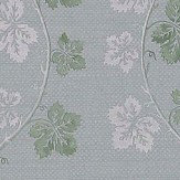 Colefax and Fowler Lotta Aqua / Green Wallpaper - Product code: 07177/05