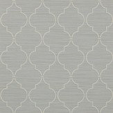 Colefax and Fowler Kenton Trellis Old Blue Wallpaper