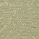 Colefax and Fowler Kenton Trellis Leaf Wallpaper